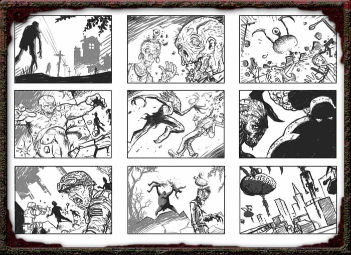 UnDO Cinematic Storyboard